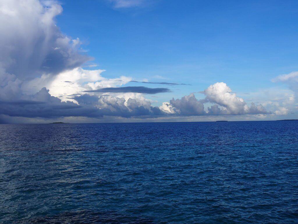 ロビンソンクラブ プール付き水上ヴィラからの景色