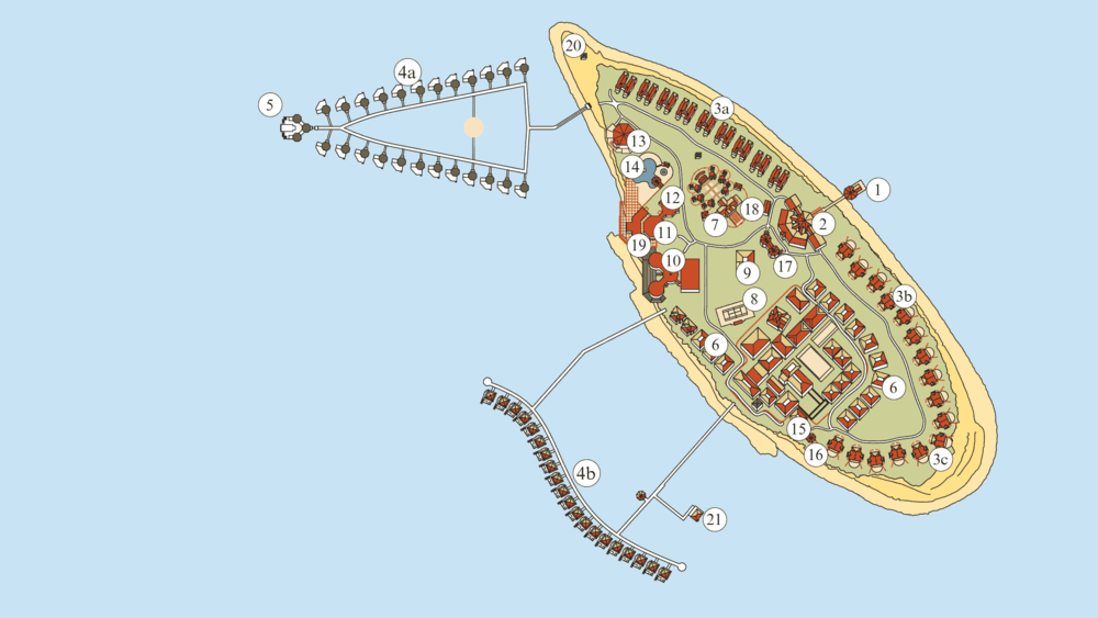 ロビンソンクラブ モルディブ 地図