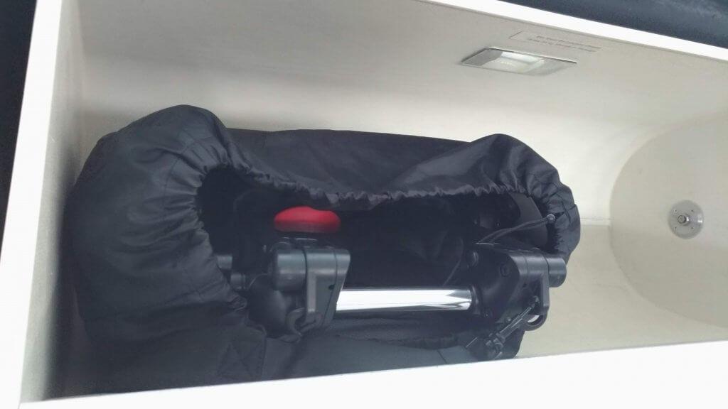 babyzen yoyo 飛行機手荷物収納