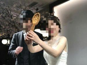 結婚式 ファーストバイト クッキースプーン