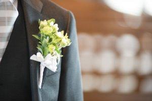 結婚式 ブートニア