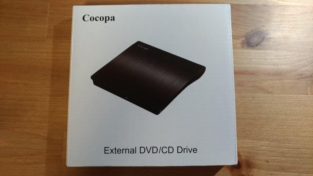 外付けポータブルCD/DVDドライブを購入