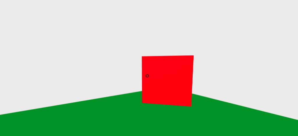A-Frame 平面 アニメーション サンプル
